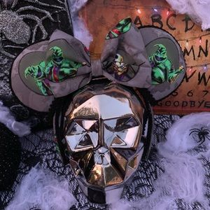 Oogie boogie nightmare Before Christmas Ears